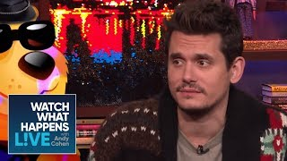 John Mayer On Andy Cohen's Annoying Habit | WWHL