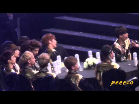 140212 The 3rd Gaon Awards - EXO - During 4minute
