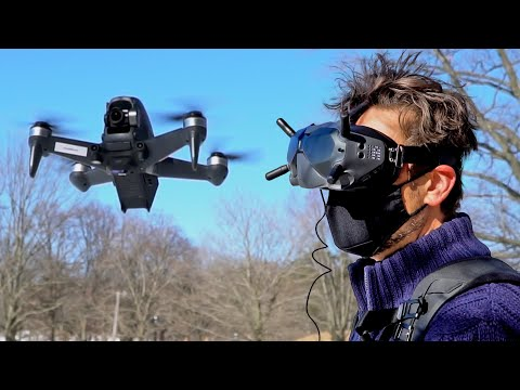 Hands-on: DJI's FPV is so immersive you'll feel like you're flying at nearly 90mph