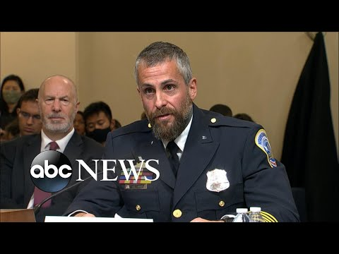 Officer Michael Fanone testifies before House Select Committee