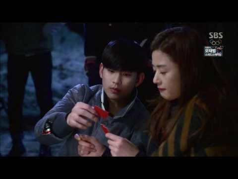 [HIT] '천타짜' 전지현-김수현 환상의 타짜 커플! @별에서 온 그대 16회