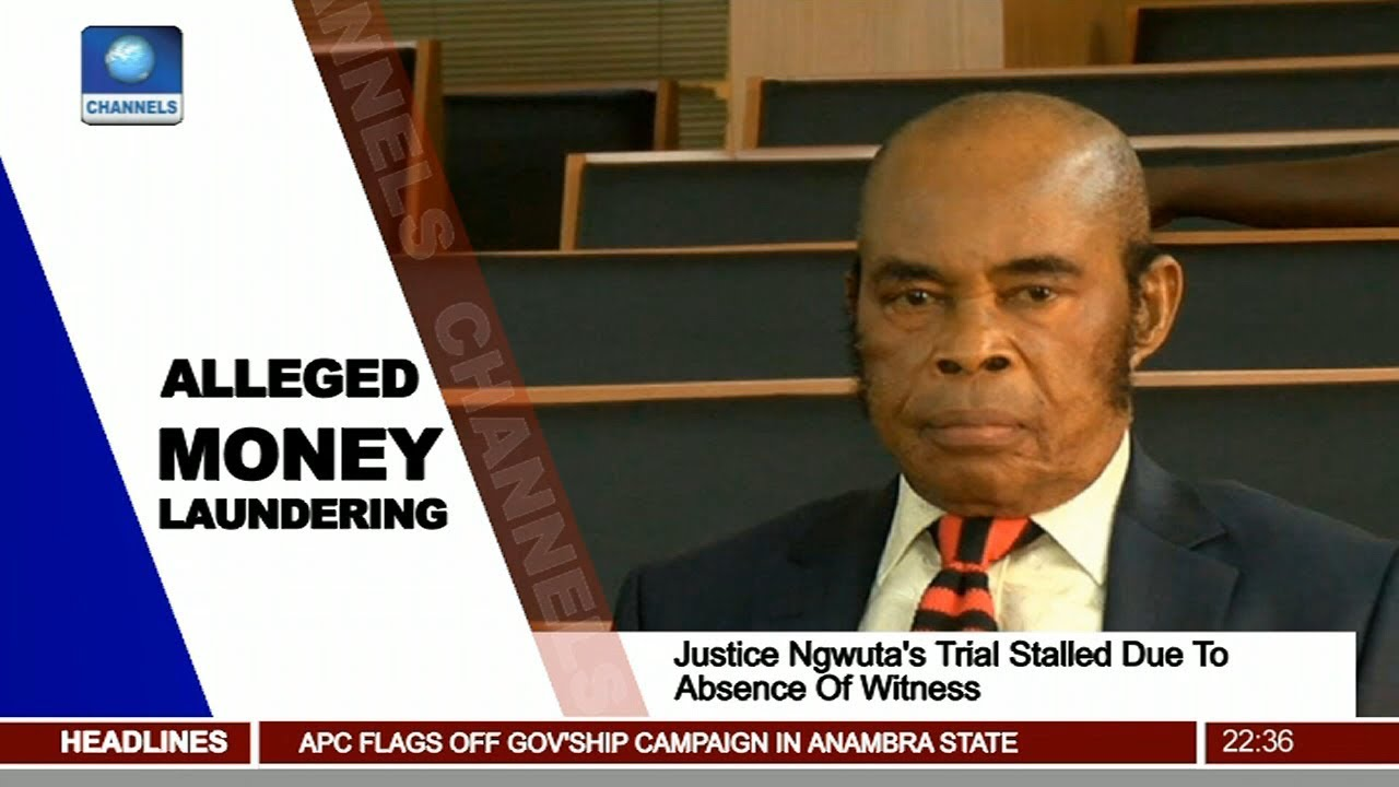 Justice Ngwuta's Trial Stalled Due To Absence Of Witness Pt.3 |News@10| 20/10/17
