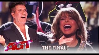 Paula Abdul SHOCKS Simon Cowell + Brian King Joseph w/Tyler Butler Figueroa   America's Got Talent