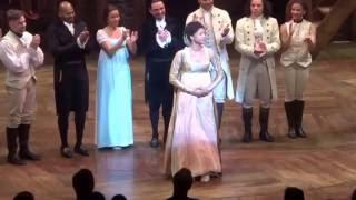 Renee Elise Goldsberry Final Curtain Call Hamilton September 3, 2016