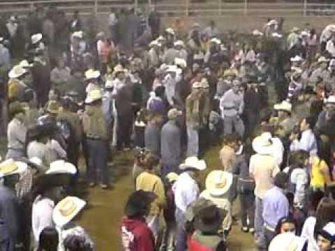 dOmadOres del valle Rosa la de Reynosa  lienzo charro profr Enrique Gonzalez