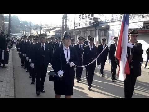 Desfile Ejercito Evangelico de chile 19-05-2013 Lota