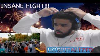 INSANE FIGHT AT DISNEY LAND FULL VIDEO (REACTION)!!!