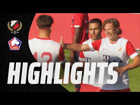 HIGHLIGHTS | Jong FC Utrecht en Lille OSC B in balans
