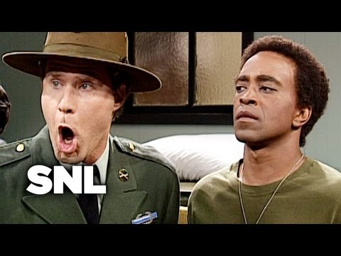The Sensitive Drill Sergeant - SNL