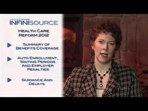 Health Care Reform 2012