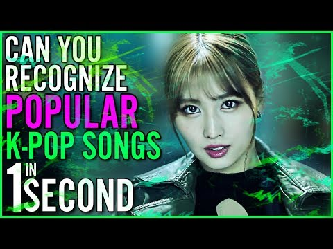 GUESS POPULAR KPOP SONGS IN ONE SECOND