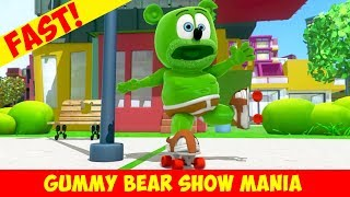 How to Roller Skate (MEGA Fast)  - Gummy Bear Show MANIA