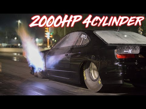 2000HP 4 Cylinder Nissan S15 - Amazing Story! Worlds Quickest and Fastest SR20