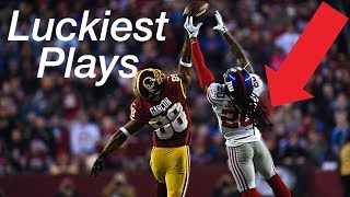 The Luckiest Plays In NFL Football History ᴴᴰ