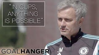 Gary Meets José Mourinho | On The Road To FA Cup Glory