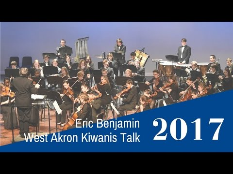 ASO Eric Benjamin Kiwanis Talk