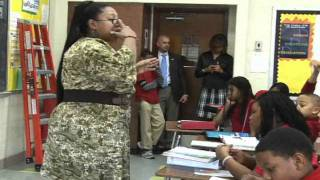 Thurgood Marshall Middle School Visit 2- 2-12