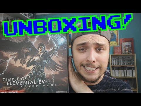 D&D: Templo del mal elemental || UNBOXING y opinión