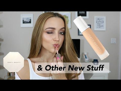 FENTY Foundation Wear Test on DRY Skin | GRWM