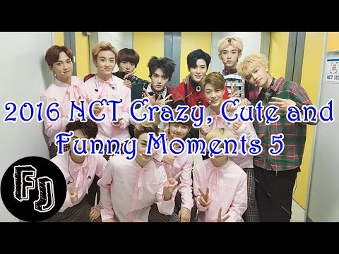 2016 NCT Crazy, Cute and Funny Moments 5