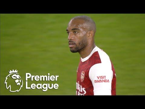 Alexandre Lacazette heads Arsenal in front of West Ham | Premier League | NBC Sports