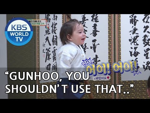 Un oh..Gunhoo is making a mess!! [The Return of Superman/2019.02.10]