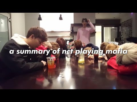 a summary of nct playing mafia
