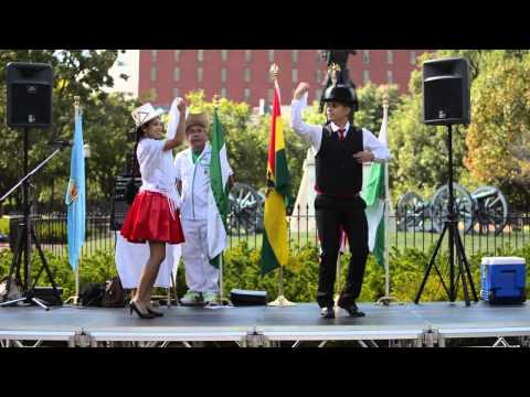 Viva mi patria Bolivia - Ballet somos Bolivia