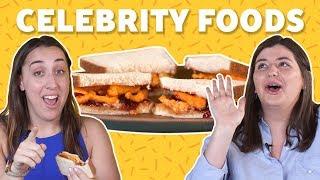 We Tried Weird Celebrity Foods | TASTE TEST