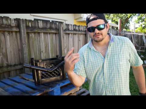 How To Make A Heavy Duty Kayak Fishing Milkcrate