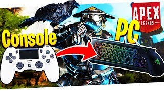 """Console's Easy, Try PC!"" - Console Player Trying PC Apex Legends!"