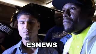 Tyson Sugar Ray Leonard AND Floyd Talk Mikey Garcia EsNews Boxing