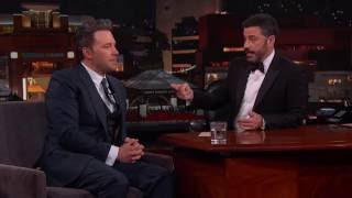 "Deleted Scene from ""Batman v Superman"" Starring Jimmy Kimmel"