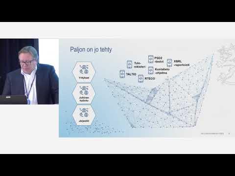 Taloushallinnon täydellinen automaatio vaatii tekoja – pieniä ja suuria.  Nordic Smart Government 3.0 -tapahtuma 28.11.2018 Paasitorni   Lisää tapahtumasta: https://www.prh.fi/fi/tietoa_prhsta/tapahtumat/tvsstemXm.html