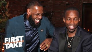 LeBron and Rich Paul's relationship is good for the NBA – Max Kellerman | First Take