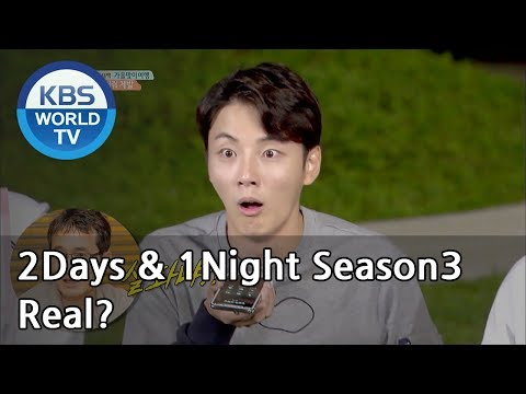 We're sorry, Director. Can you guess what it is?  [2Days&1Night Season3/2018.10.07]
