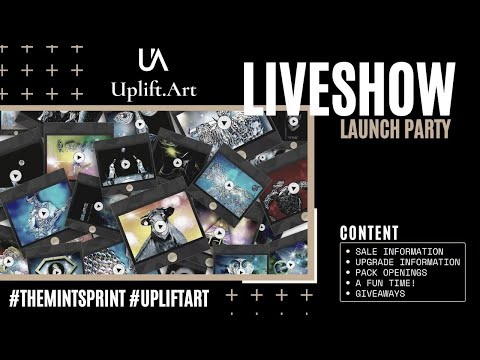 UPLIFT.ART LAUNCH PARTY | Creative philanthropy through NFTs on Blockchain