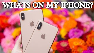 WHAT'S ON MY IPHONE XS MAX 2019