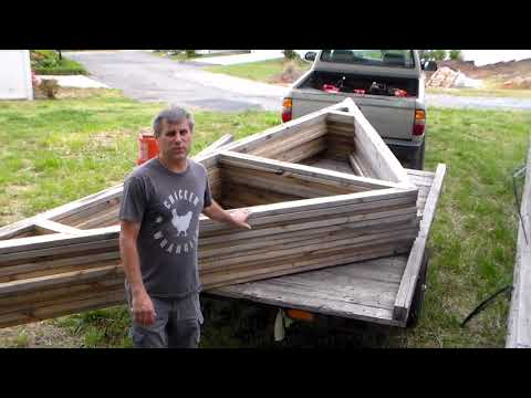 How to build your homestead for free...Salvage and reuse