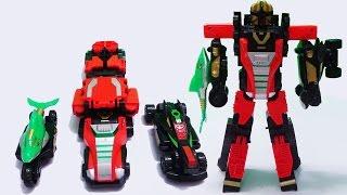Lắp ráp robot siêu nhân cơ động cá mập biến hình - Robot Transformer