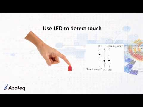 Azoteq's 30 second tip for Capacitive Touch/Proximity Sensing using IQS263