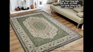 Tổng hợp những mẫu thảm sofa giá rẻ tại tphcm