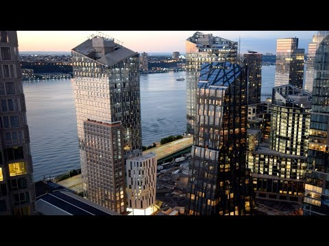 New York's Waterline Square skyscrapers climb in time-lapse movie