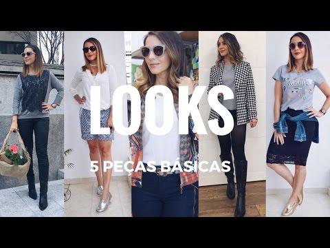 5 Peças básicas para os looks do dia a dia