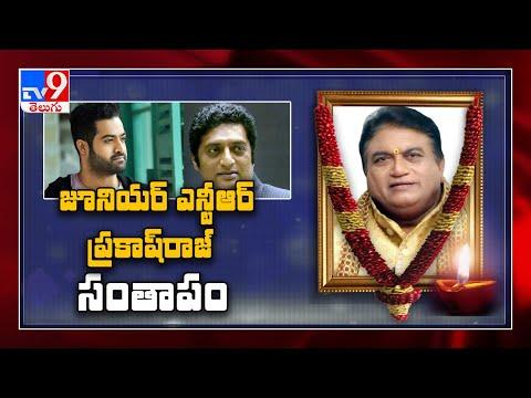 Jr NTR, Chandrababu pays tribute to Jaya Prakash Reddy