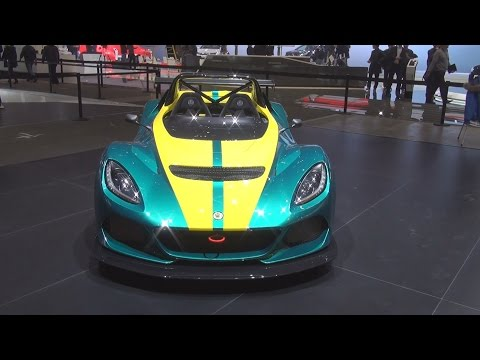 Lotus 3-Eleven (2016) Exterior and Interior in 3D