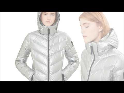 Bogner Sassy Womens Ski Jacket in Silver