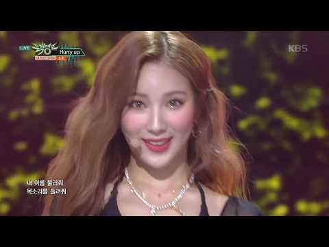 뮤직뱅크 Music Bank - Hurry up - 소희(SO HEE).20181019