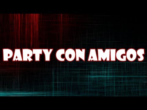 Party con amigos retrobarcelona