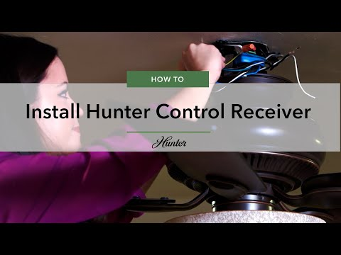 How to Install a Hunter Control Receiver